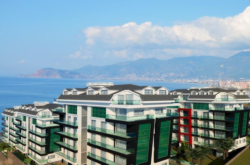 Апартаменты в Аланье, Турция, 76 м2 - фото 1