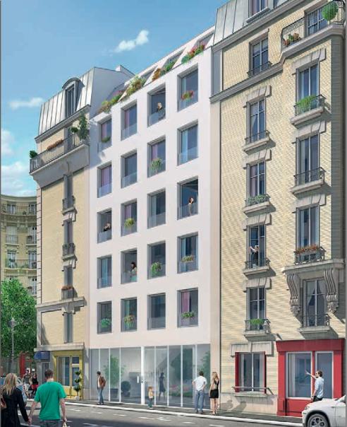 Квартира в Париже, Франция, 32 м2 - фото 1
