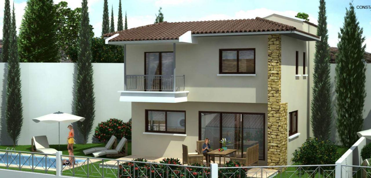 Вилла в Тсаде, Кипр - фото 1