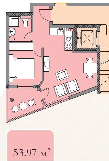 Апартаменты в Святом Власе, Болгария, 54 м2 - фото 12