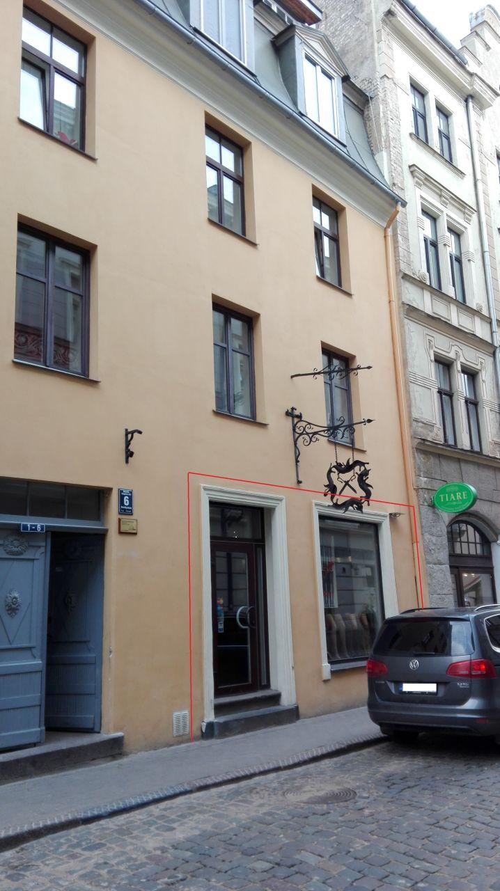 Магазин в Риге, Латвия, 104.4 м2 - фото 1