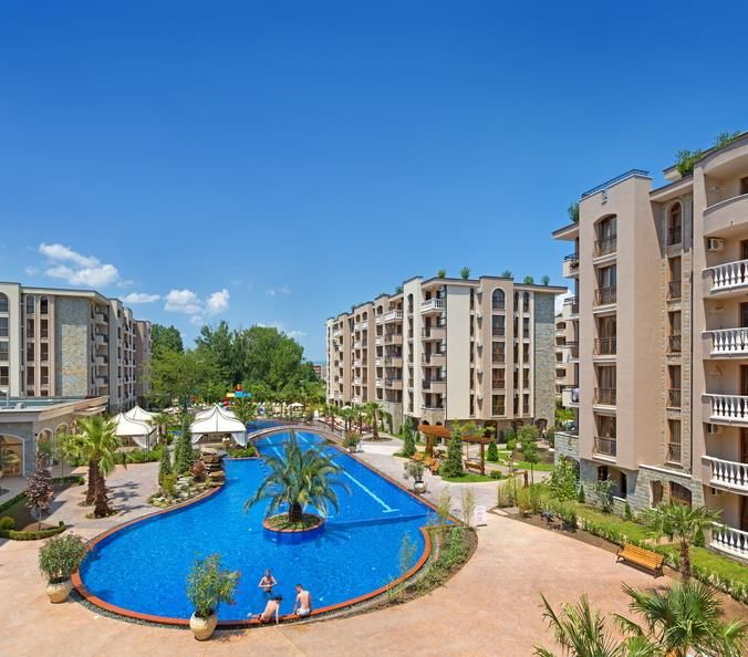 Апартаменты на Солнечном берегу, Болгария, 57.3 м2 - фото 3