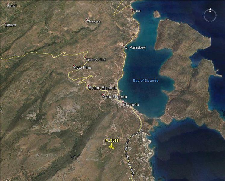 Земля в номе Ханья, Греция, 5010 м2 - фото 1