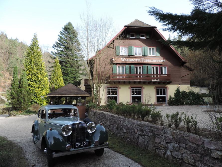 Отель, гостиница в Баден-Бадене, Германия, 2100 м2 - фото 1