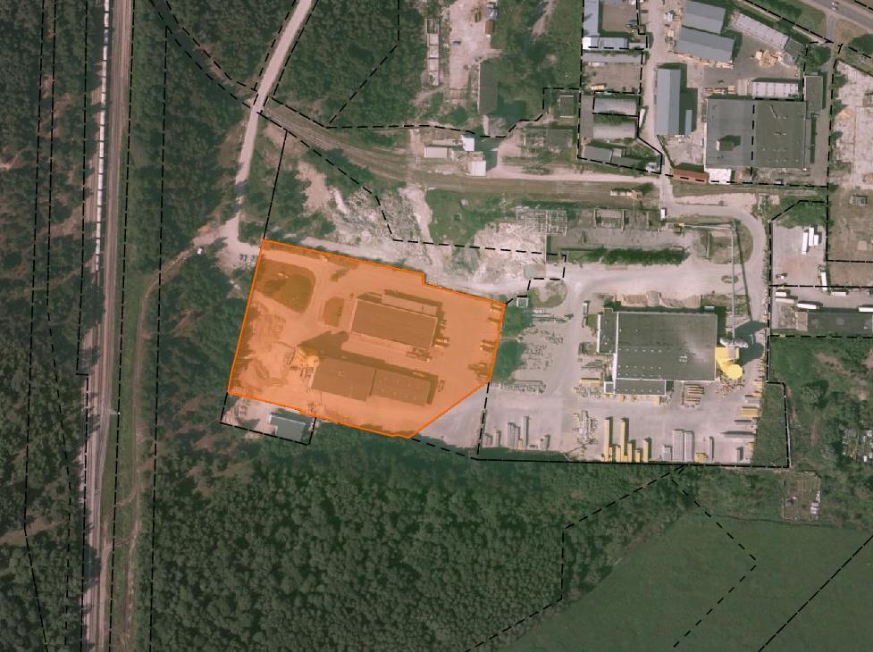 Производство в Риге, Латвия, 3500 м2 - фото 1