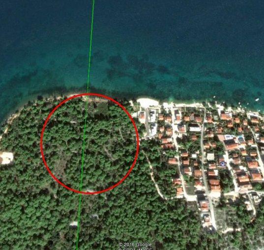 Земля на Чиово, Хорватия, 600 м2 - фото 1