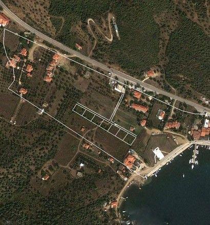 Земля Халкидики-Ситония, Греция, 3540 м2 - фото 1