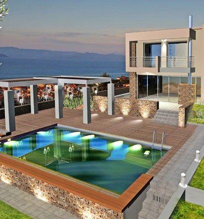 Вилла Халкидики-Кассандра, Греция, 90 м2 - фото 1