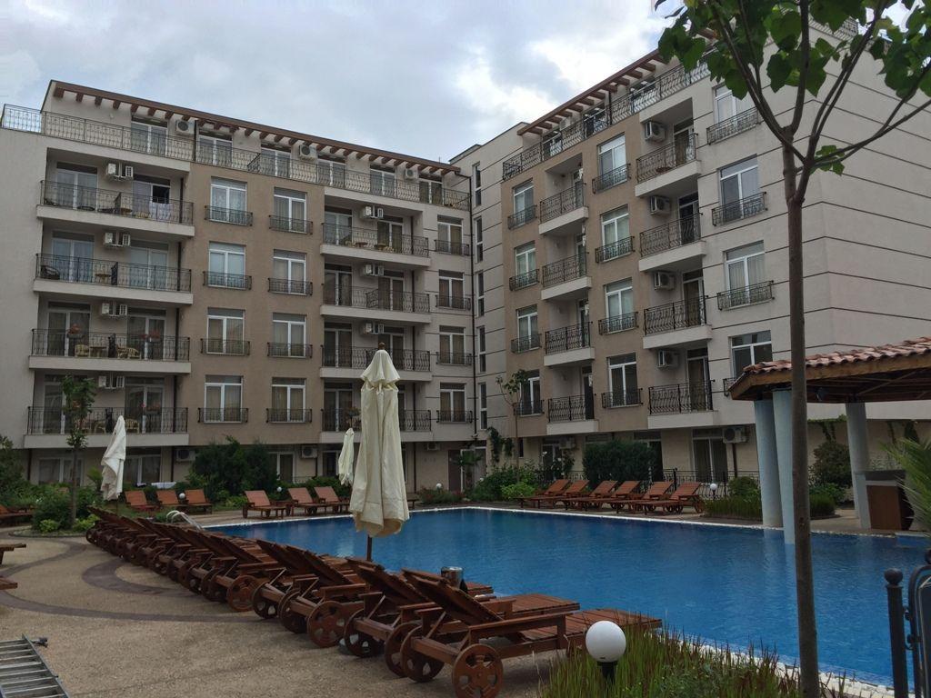 Квартира на Солнечном берегу, Болгария, 34 м2 - фото 1