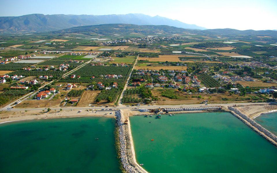Земля на Афоне, Греция, 3000 м2 - фото 1