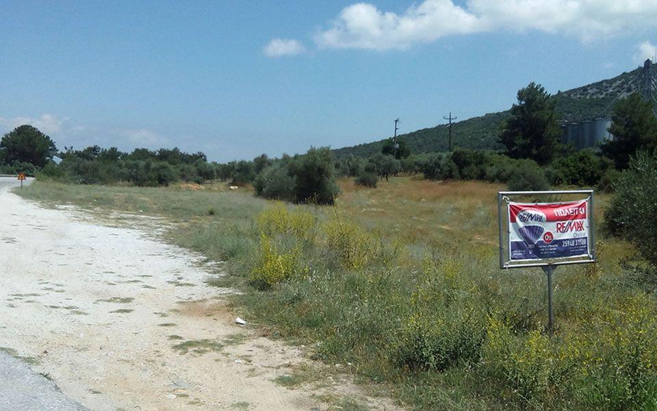 Земля на Тасосе, Греция, 6900 м2 - фото 1