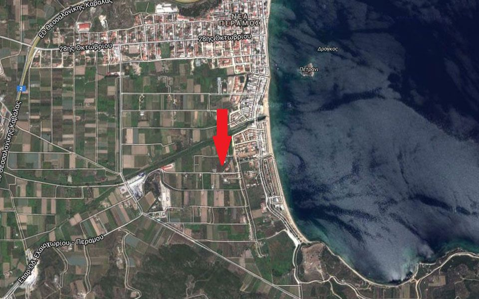 Земля на Саламине, Греция, 3000 м2 - фото 1