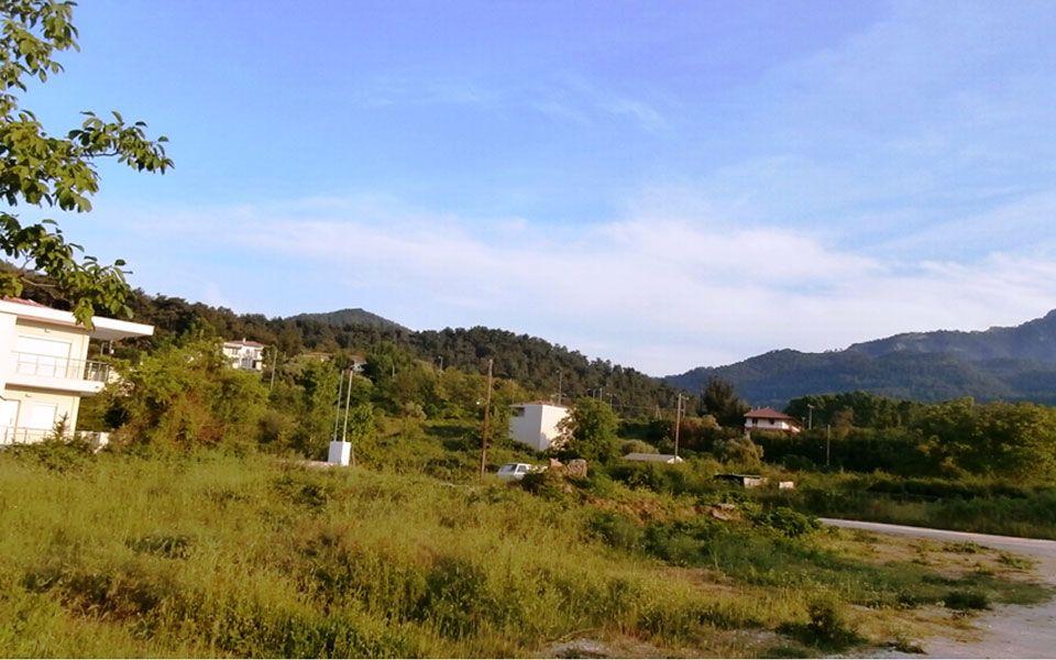 Земля на Тасосе, Греция, 1002 м2 - фото 1