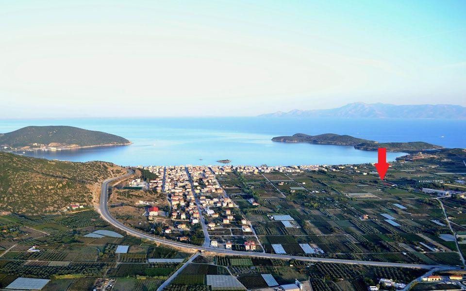 Земля на Саламине, Греция, 1850 м2 - фото 1