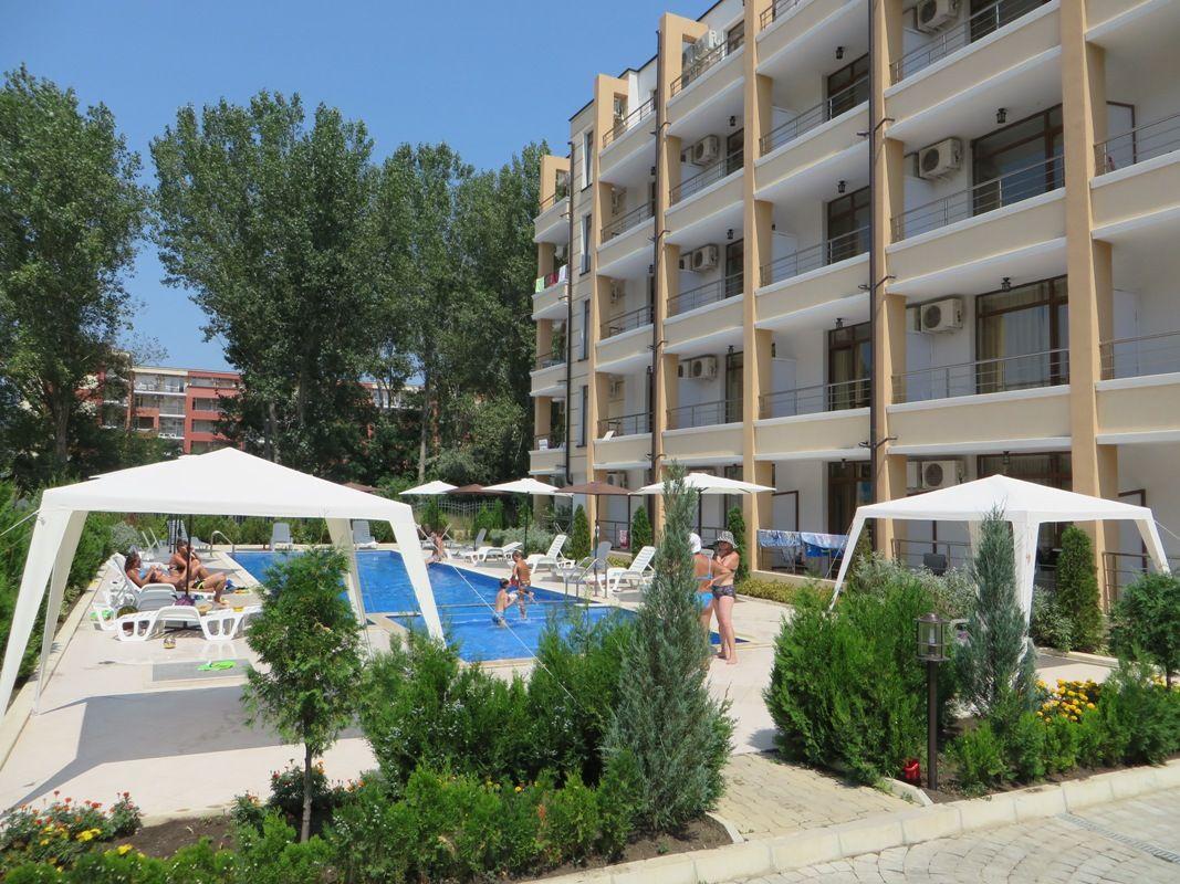 Апартаменты на Солнечном берегу, Болгария, 35 м2 - фото 1