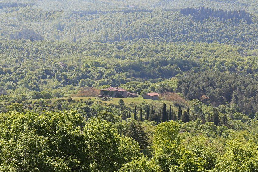 Ферма в Умбрии, Италия, 2030 м2 - фото 1