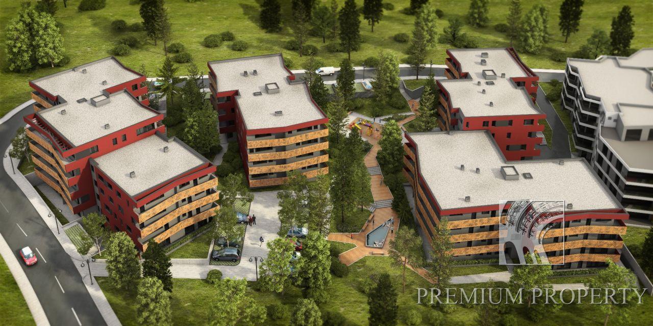 Апартаменты в Варне, Болгария, 56.89 м2 - фото 1