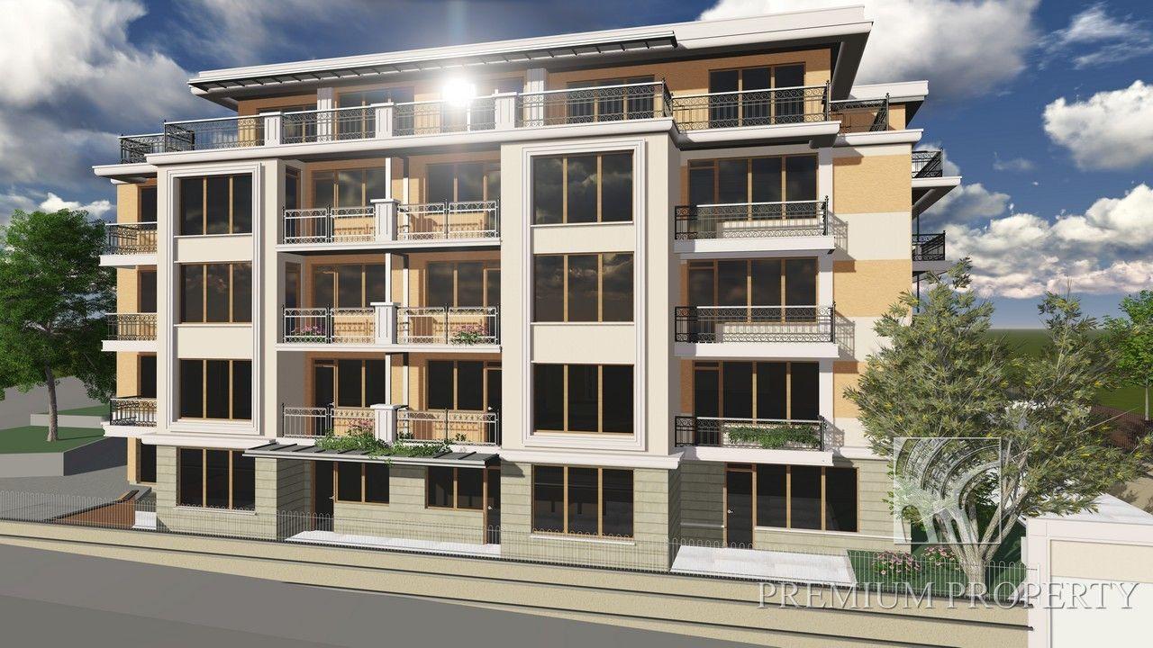 Апартаменты в Варне, Болгария, 54.98 м2 - фото 1