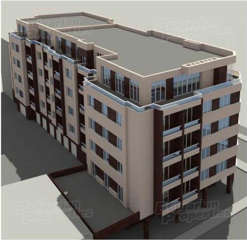 Апартаменты в Софии, Болгария, 56.97 м2 - фото 1