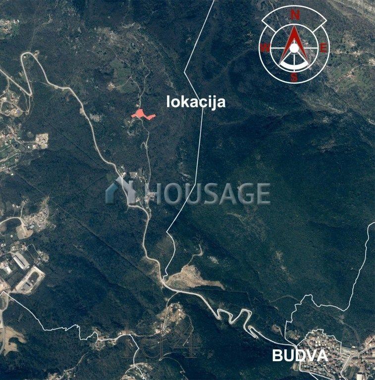 Земля в Будве, Черногория, 4784 м2 - фото 1
