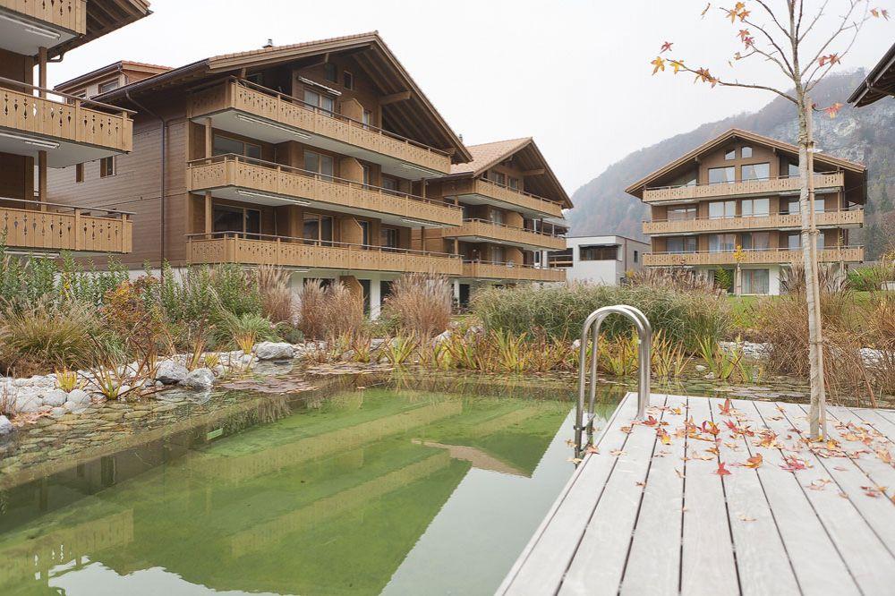 Апартаменты в Интерлакене, Швейцария, 106 м2 - фото 1