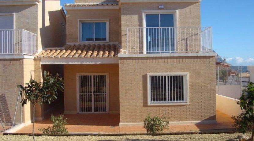 Вилла в Гата-де-Горгос, Испания, 115 м2 - фото 1