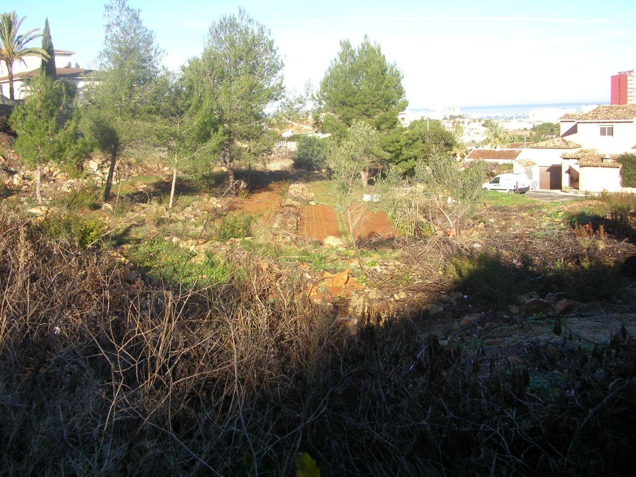 Земля в Дении, Испания, 2748 м2 - фото 1