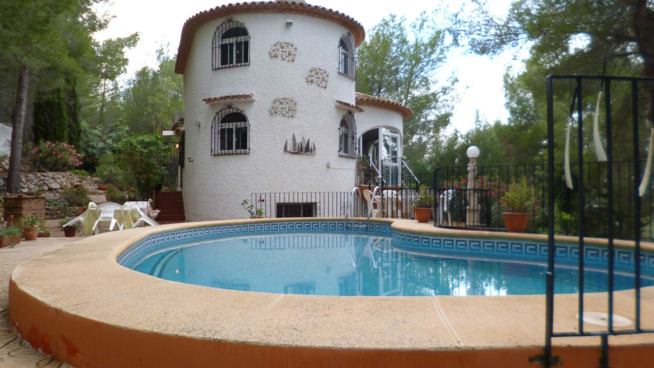 Вилла в Хавее, Испания, 3020 м2 - фото 1