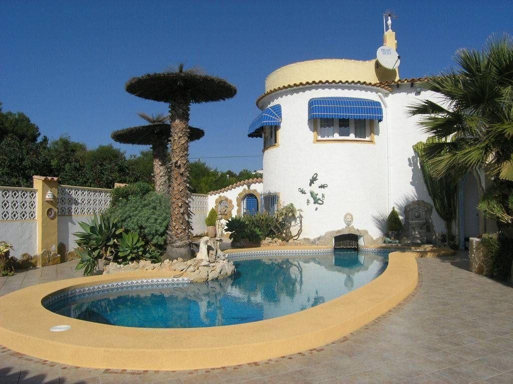 Вилла в Кальпе, Испания, 205 м2 - фото 1