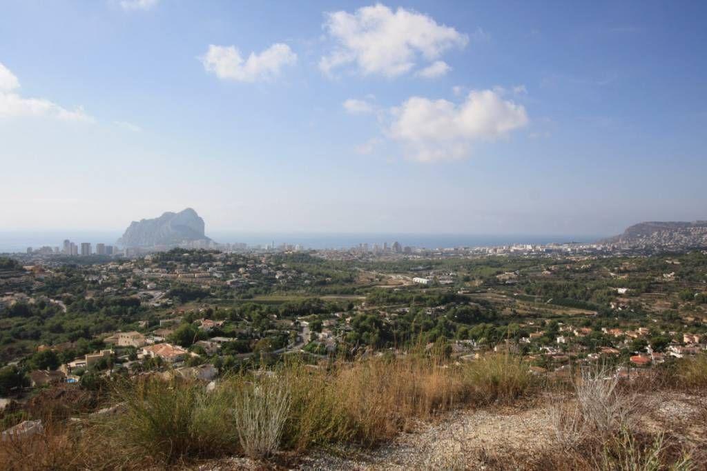 Земля в Кальпе, Испания, 1304 м2 - фото 1