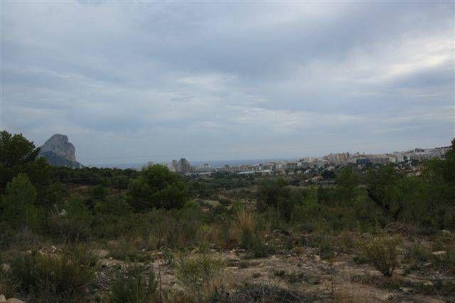 Земля в Кальпе, Испания, 10519 м2 - фото 1