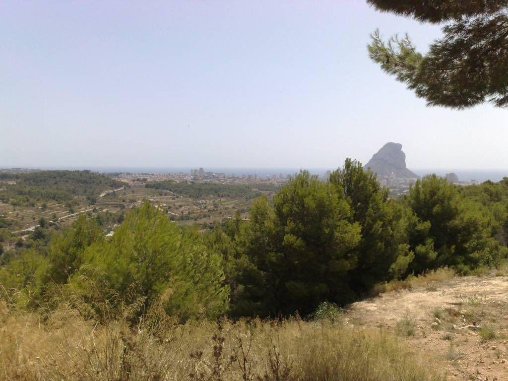 Земля в Кальпе, Испания, 926 м2 - фото 1