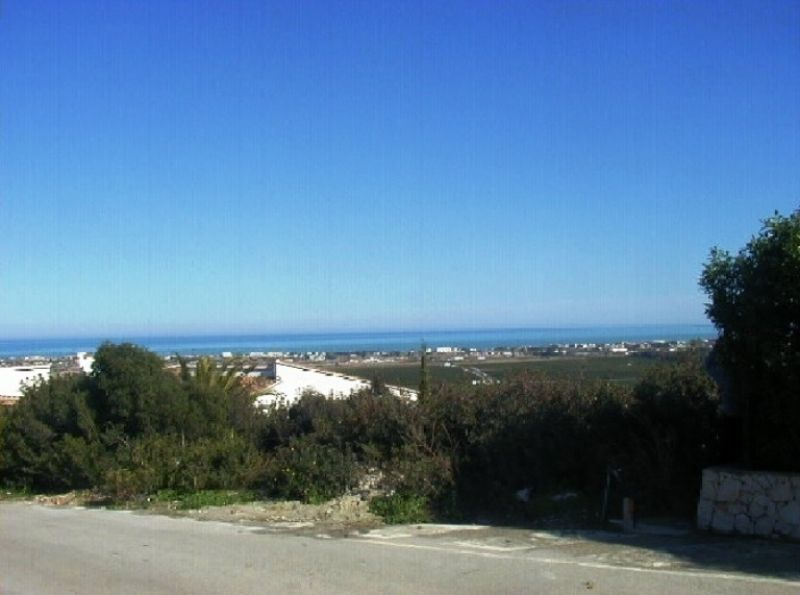Земля в Дении, Испания, 1100 м2 - фото 1