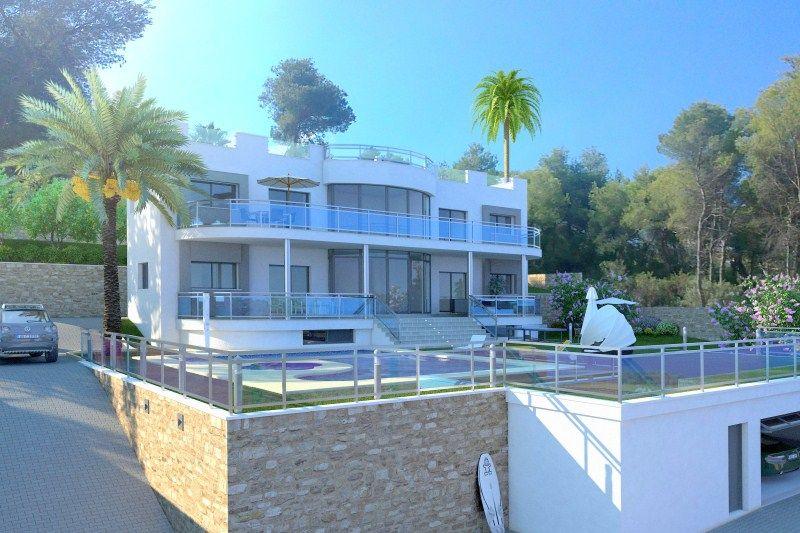 Ville di lusso di La Spezia in fase di costruzione