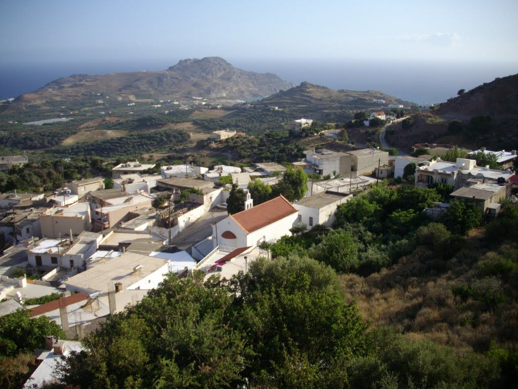 Земля в номе Ханья, Греция, 1100 м2 - фото 1