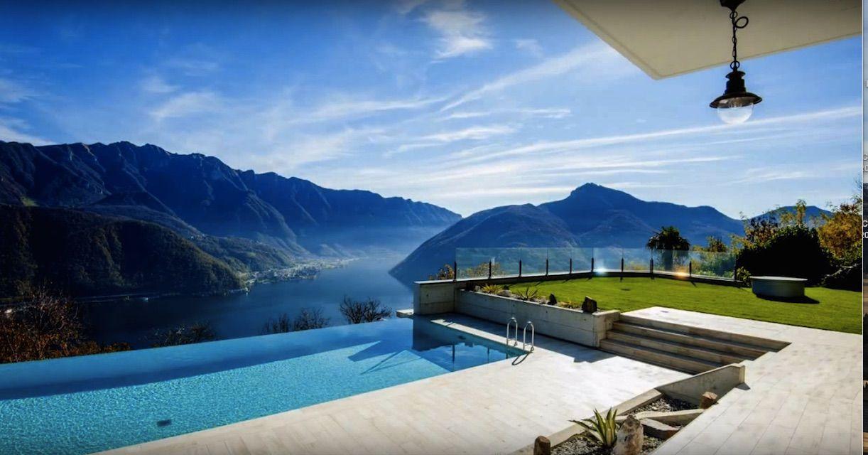 Вилла в Лугано, Швейцария, 600 м2 - фото 1