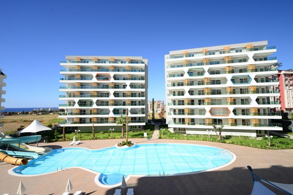 Апартаменты в Аланье, Турция, 42 м2 - фото 1