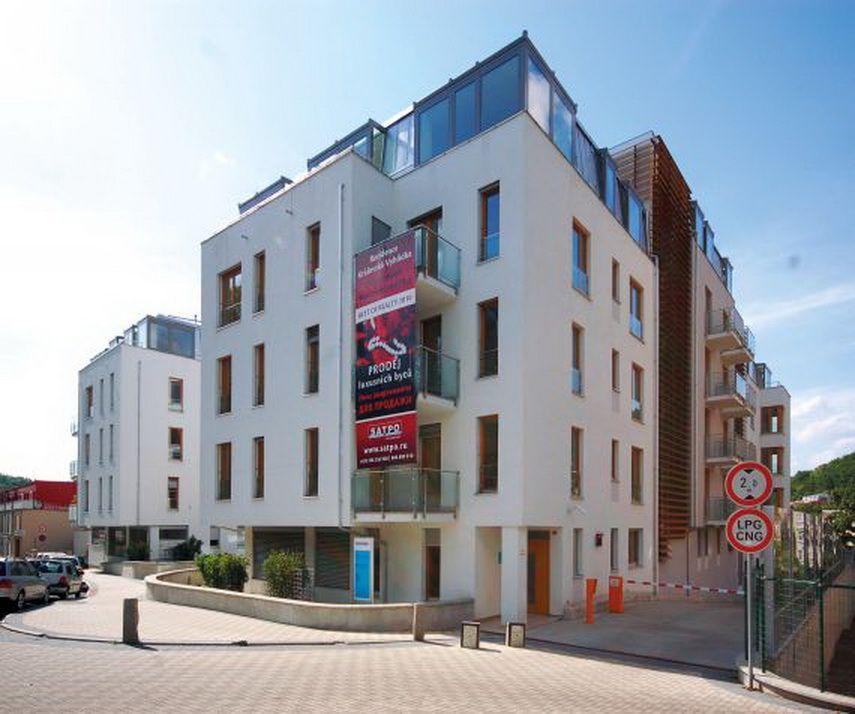 Апартаменты в Карловых-Варах, Чехия, 103 м2 - фото 1