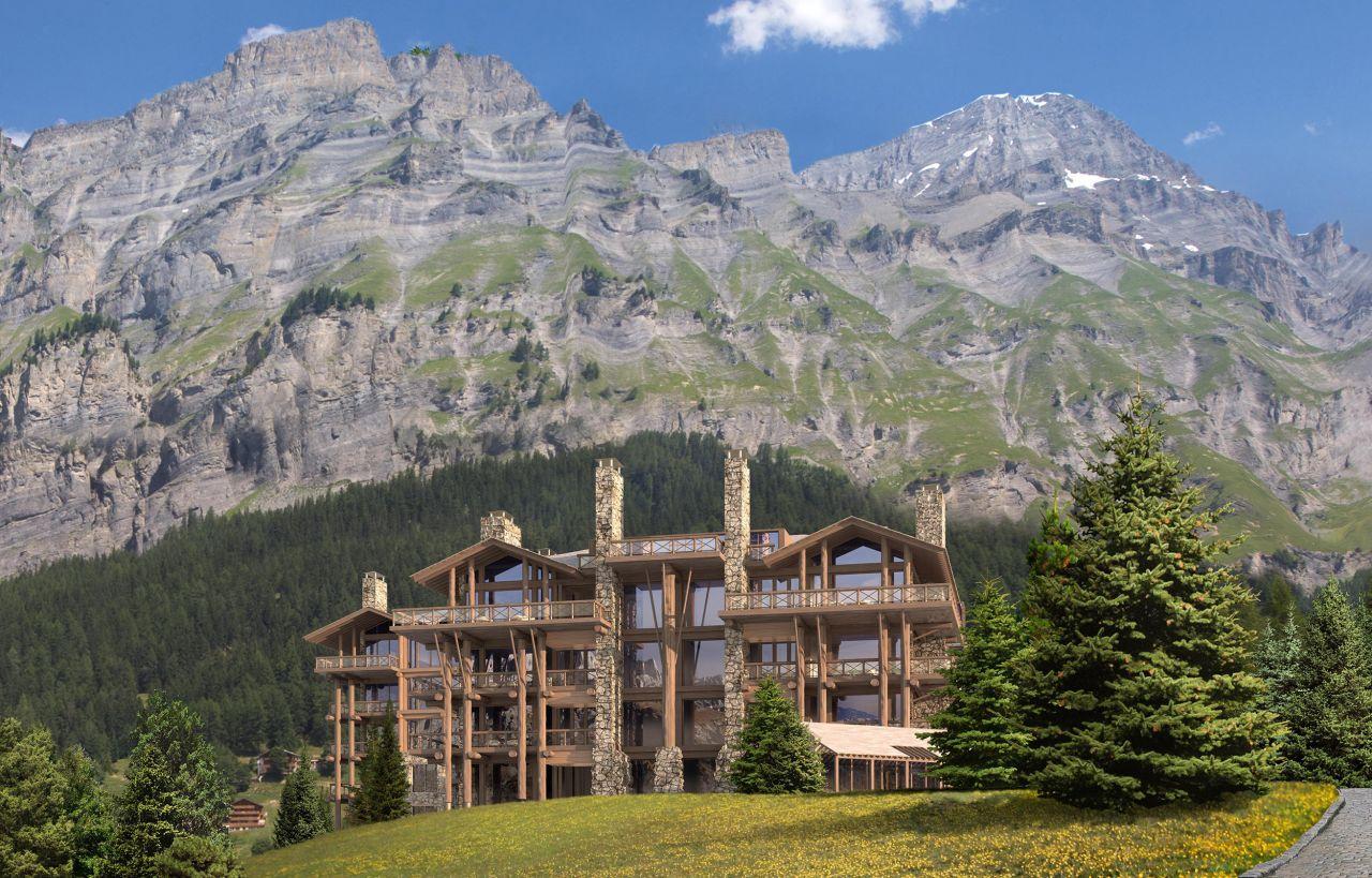 Апартаменты в Вале, Швейцария, 109 м2 - фото 1