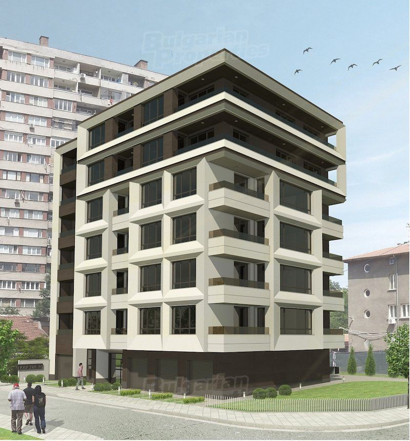 Апартаменты в Софии, Болгария, 60.72 м2 - фото 1