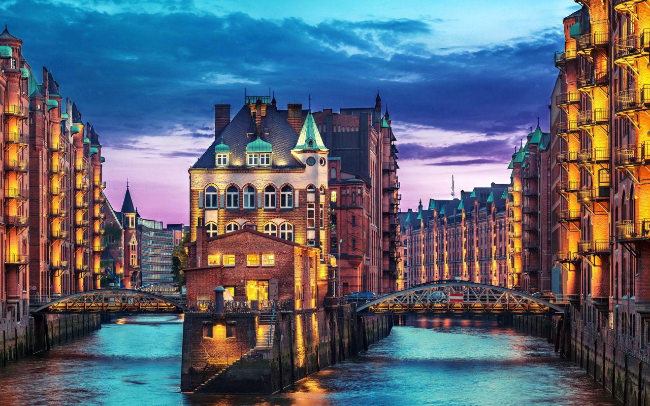 Отель, гостиница в Гамбурге, Германия, 5580 м2 - фото 1