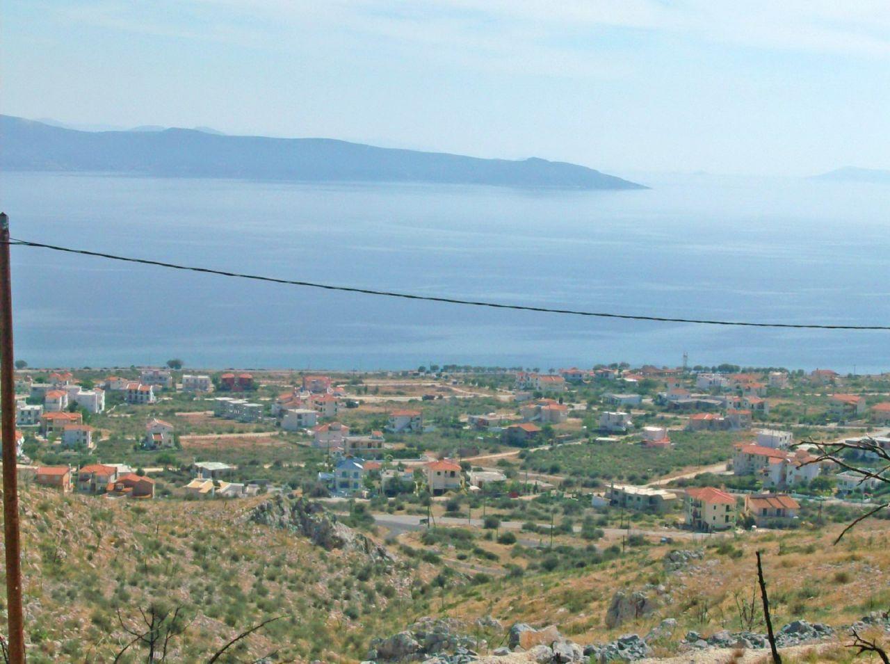Земля на Эвбее, Греция, 780 м2 - фото 1