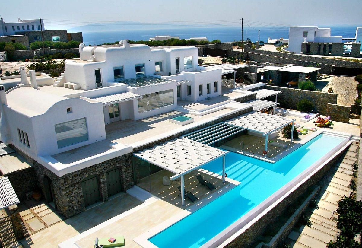 Вилла на Миконосе, Греция, 1000 м2 - фото 1