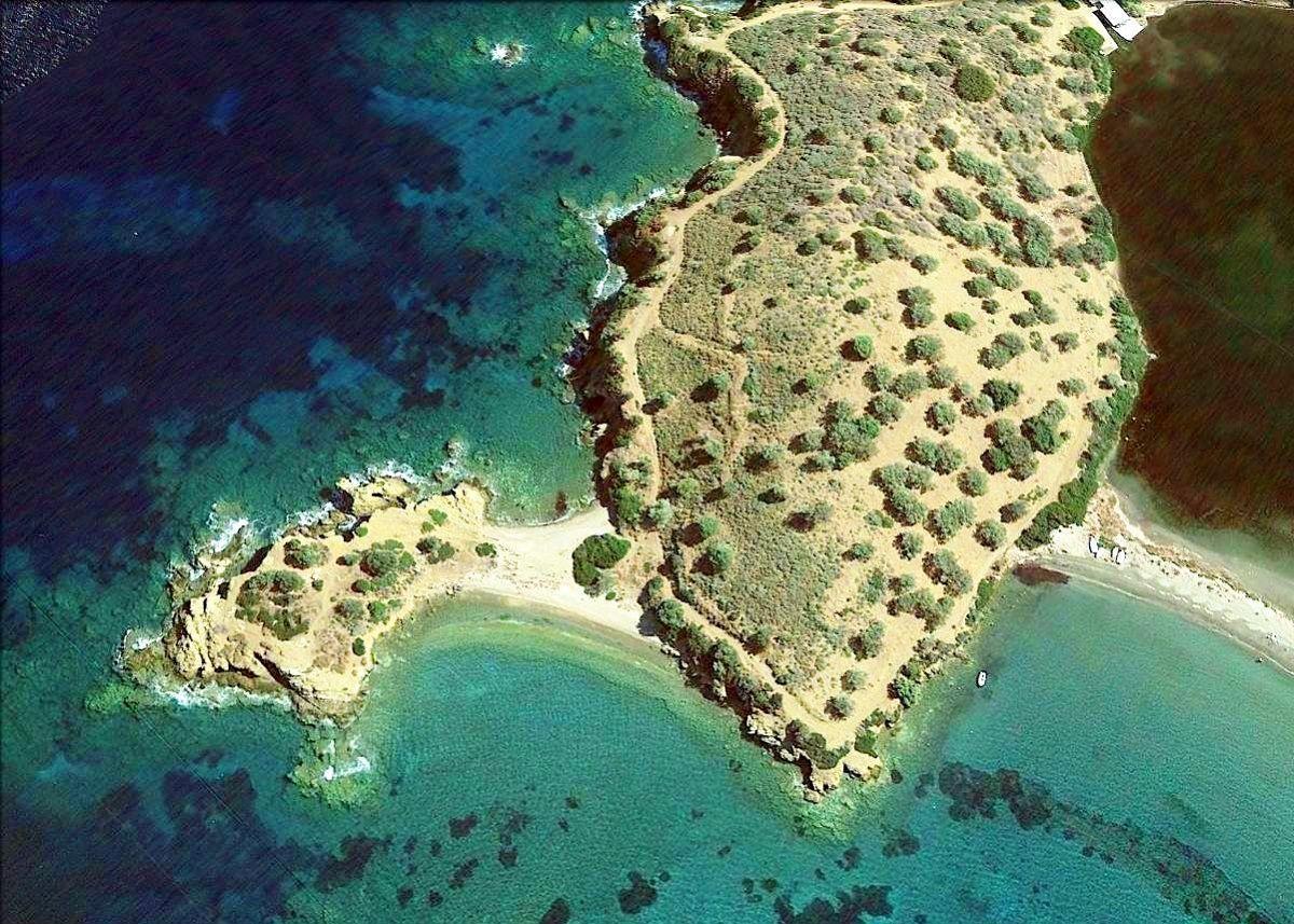 Земля на Поросе, Греция, 60000 м2 - фото 1