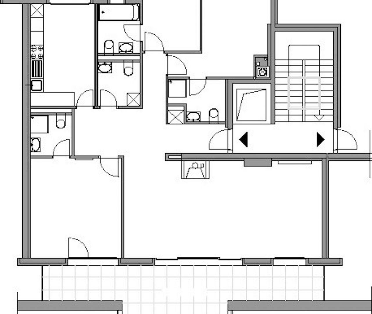 Квартира в Монтрё, Швейцария, 127 м2 - фото 12