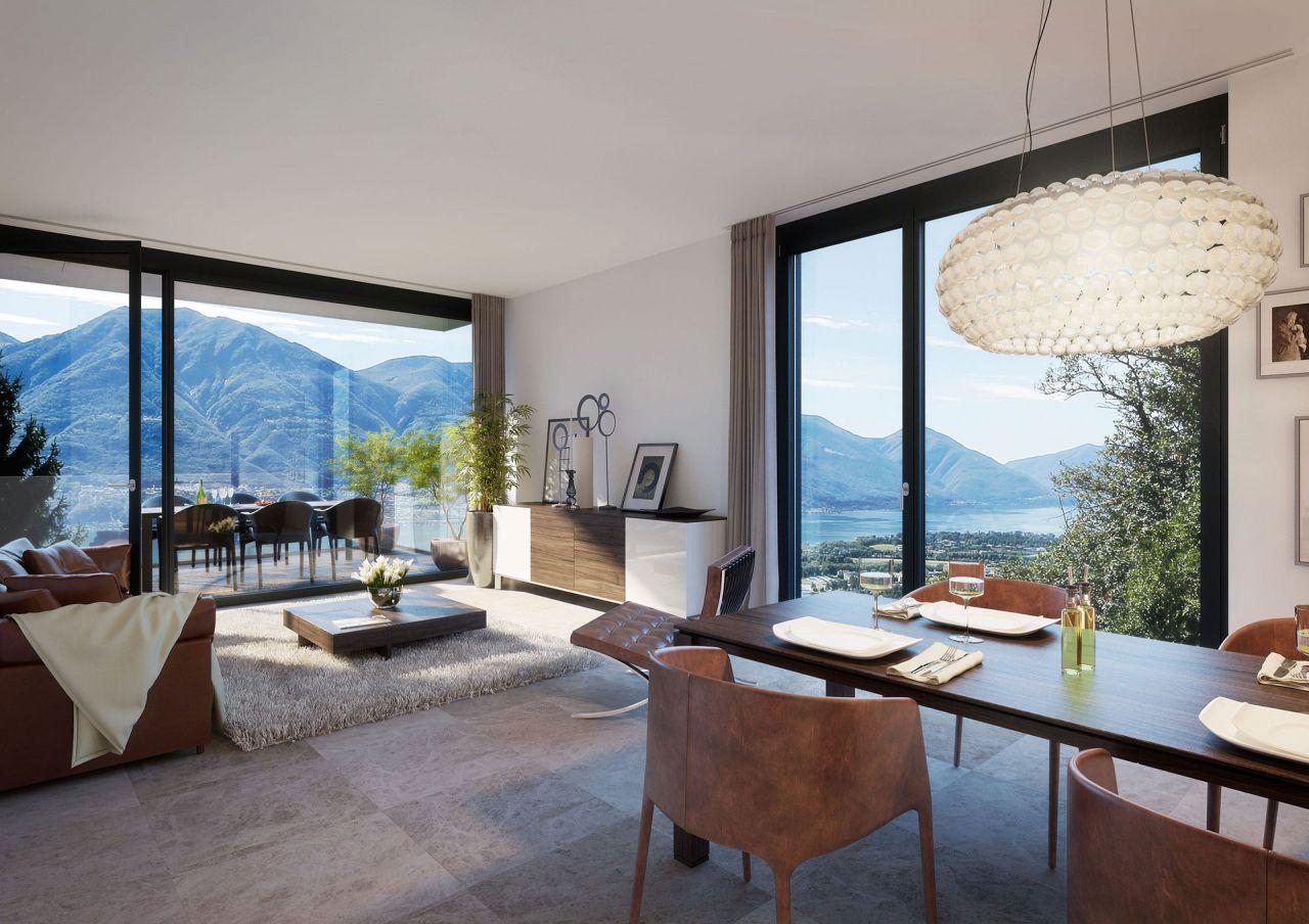 Апартаменты в Тичино, Швейцария, 150 м2 - фото 1