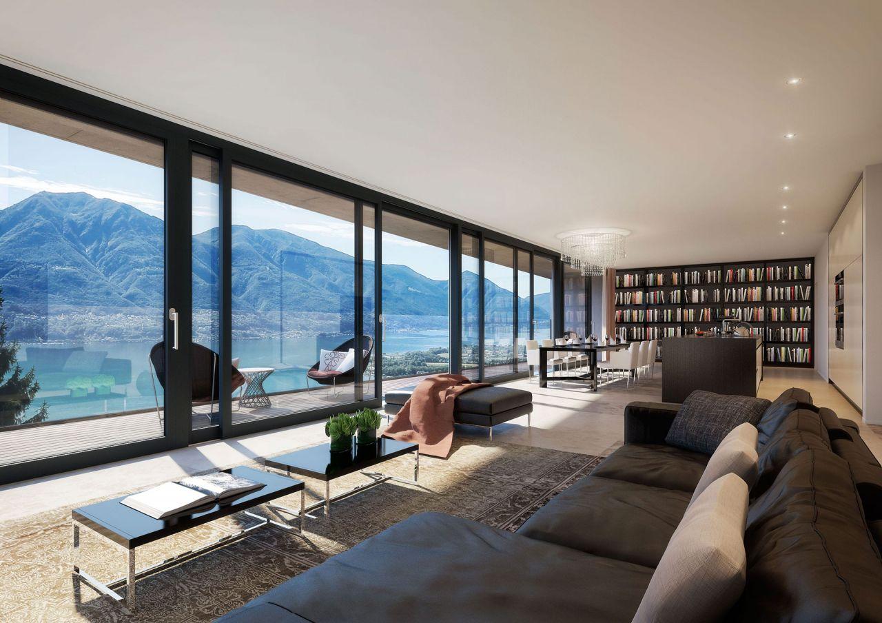 Апартаменты в Тичино, Швейцария, 150 м2 - фото 3