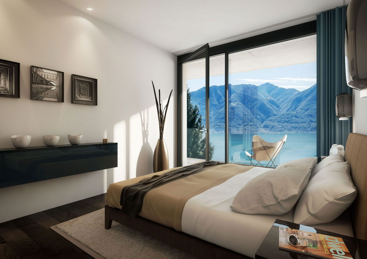 Апартаменты в Тичино, Швейцария, 150 м2 - фото 4