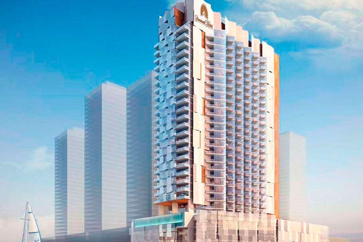 Отель, гостиница в Дубае, ОАЭ, 63 м2 - фото 1