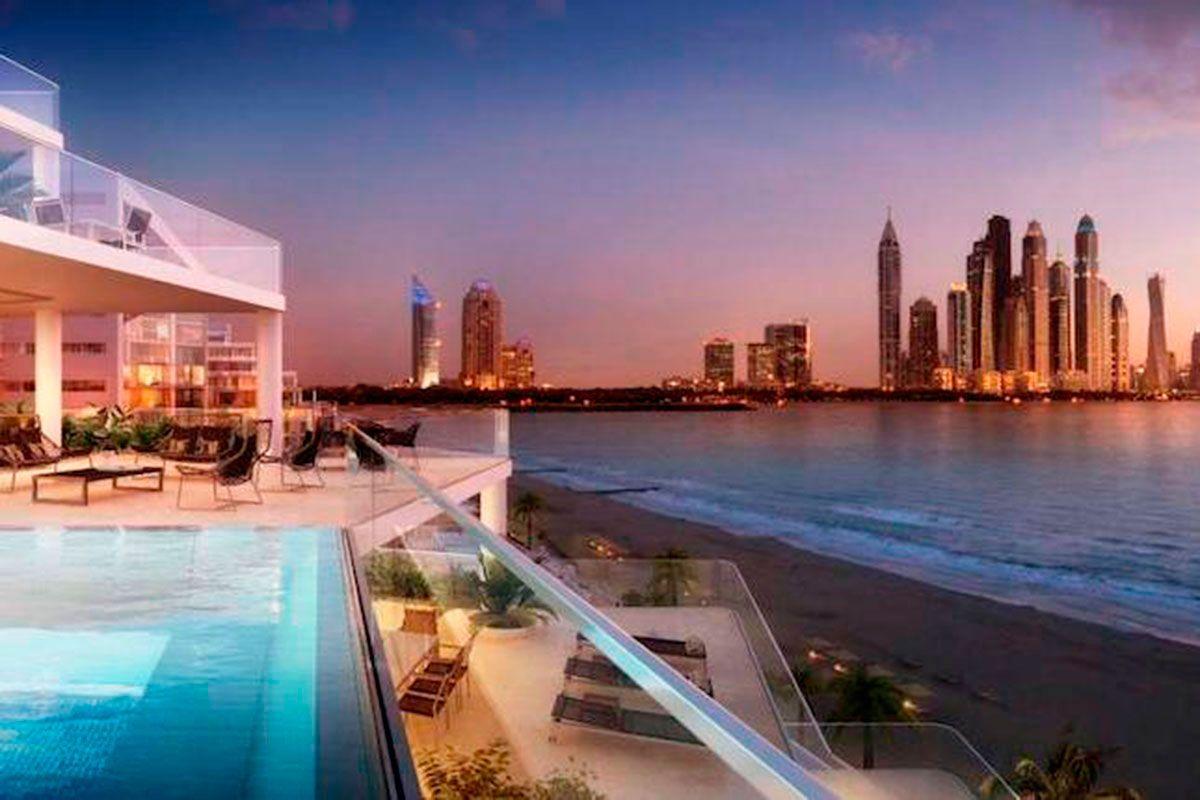 Отель, гостиница в Дубае, ОАЭ, 80 м2 - фото 1